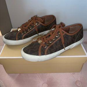 Michael Kors Brown Boerum Sneakers US 8